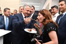 Ulaştırma Bakanı Arslan'a doğum günü sürprizi!