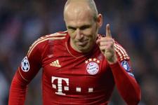 Arjen Robben'in kaynağı Luis Nani