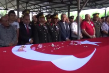 Bitlis şehidi Isparta'da toprağa verildi