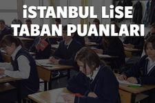 İstanbul lise taban puanları ve yüzdelik dilimler 2016 ilçe ilçe tam liste