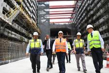 Ulaştırma Bakanı Ahmet Arslan Avrasya Tüneli'ne indi