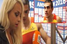 İspanyol atlet şampiyon olduğunu muhabirden öğrenince şoke oldu