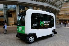 Sürücüsüz minibüs yollarda 12 kişi taşıyacak