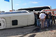 Giresun'da facia gibi kaza: 24 yaralı!