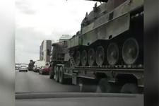 Darbe tankları böyle taşındı Süleyman Özışık görüntüledi