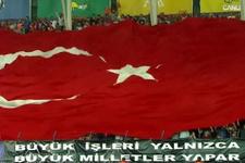 Osmanlıspor taraftarından anlamlı pankart