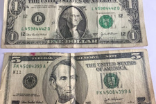 Kayseri'de 1 dolarlık banknotlar ele geçirildi