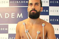 Erkan Zengin sağlık kontrolünden geçti
