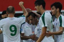 Bursaspor Alman ekibine mağlup oldu