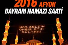 Afyon Bayram namazı saat kaçta 2 rekat nasıl kılınır?
