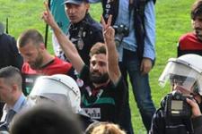 Amedsporlu futbolcu Abdullah Çetin dağa çıktı!