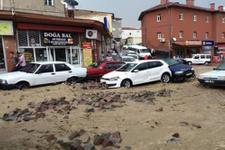 Kayseri'de 20 dakika yağan yağmur can aldı