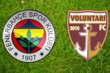 Fenerbahçe Voluntari sınavına çıkıyor