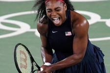 Serena Williams çeyrek finali göremedi