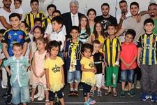 Fenerbahçeli Mehmet Topal'dan moral yemeği