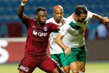 Bursaspor Trabzonspor'a geçit vermedi