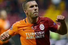 Galatasaray'da Lukas Podolski şoku