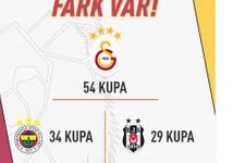 Galatasaray'dan ezeli rakiplerine olay gönderme!