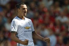 Zlatan İbrahimovic Premier Lig'deki ilk golünü attı