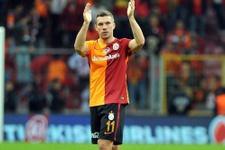 Galatasaray'a Podolski'den kötü haber