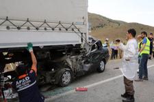 Erzincan'da korkunç kaza: 4 ölü!
