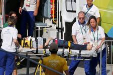 Rio 2016'da korkunç kaza