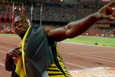Usain Bolt 200 metrede de Olimpiyat şampiyonu