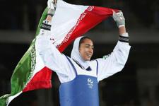 İranlı kadın sporcu tarihe geçti
