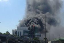 Merter iş merkezinde yangın son durum ne?