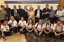 Türkiye olimpiyat kafilesi Rio'ya gitti
