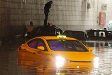 Ankara sele teslim! Alt geçitler göl oldu!