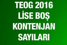 TEOG lise boş kontenjan 2016 MEB sorgu ekranı