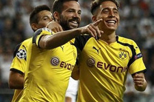 Emre Mor siftah yaptı Dortmund yarım düzine attı
