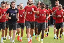 Galatasaray derbi mesaisine başladı