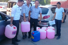 Şanlıurfa'da okullara malzeme yardımı