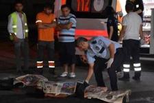 Gaziantep'te motosiklet kazası: 2 ölü!