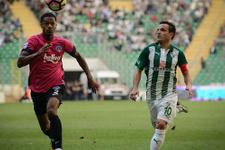 Bursaspor Kasımpaşa'yı yendi seriye devam etti
