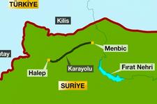 Türkiye çatışmadan YPG'lileri kovdu geri çekildiler!
