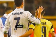 Emre Mor'un Ronaldo paylaşımı sosyal medyayı salladı