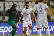 Akhisar Belediyespor - Gençlerbirliği maçı sessiz bitti