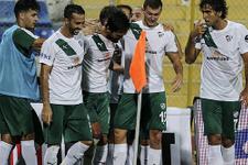 Bursaspor'dan bol gollü hazırlık