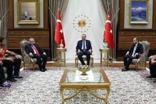Cumhurbaşkanı Erdoğan sporcuları kabul etti