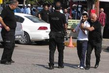 Bursa'da Adliye'de büyük kavga!