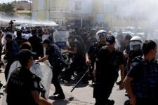 Diyarbakır'da gerginlik! Ortalık savaş alanına döndü
