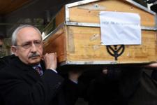 Son yolculuğunda Kılıçdaroğlu da yalnız bırakmadı