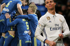 Real Madrid'e bir hezimet daha