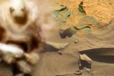 Mars'ta yaşam var mı? Dünya'yı sarsan fotoğraf!