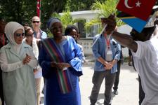Emine Erdoğan TİKA ofisinin açılışında