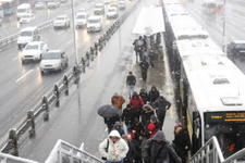 İstanbul hava durumu saatler kaldı kar geliyor