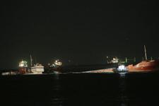 Zeytirburnu açıklarında gemi battı